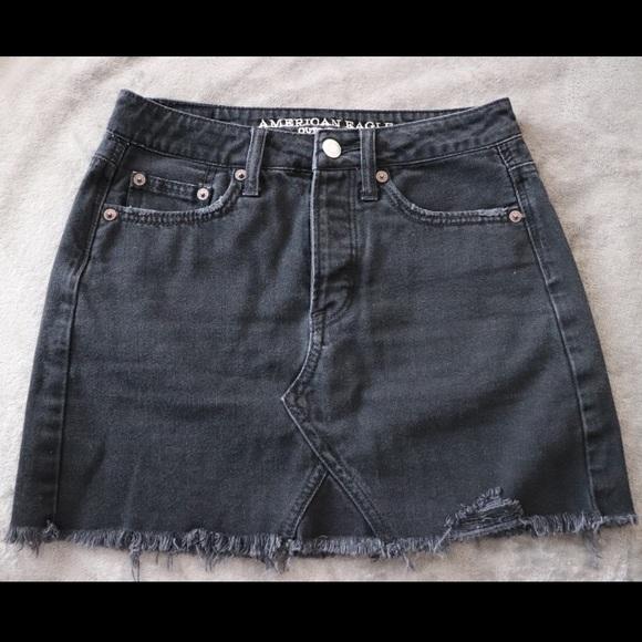 70db6625cb American Eagle Outfitters Dresses & Skirts - AE-High-Waisted Festival Denim  skirt
